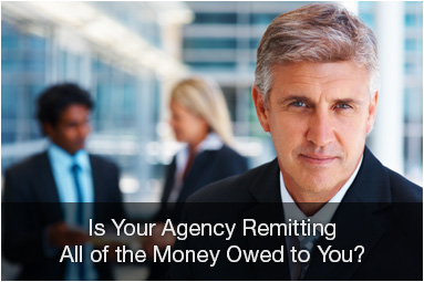 Is your agency remitting all of the money owed to you?